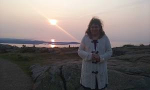 Acadia National Park and Me on Cadillac Mountain