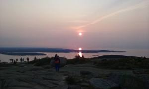 Acadia National Park Enjoying the View