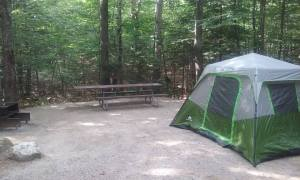 My Tent at Basin Campground