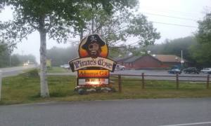 Pirate's Cove Across the Street